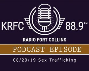 KRFC Radio Fort Collins podcast logo